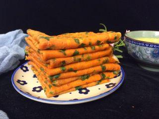 了不起的小番茄+番茄汁韭菜鸡蛋煎饼,好吃又好看的煎饼可以吃了,再配上一碗小米粥,做早餐完美