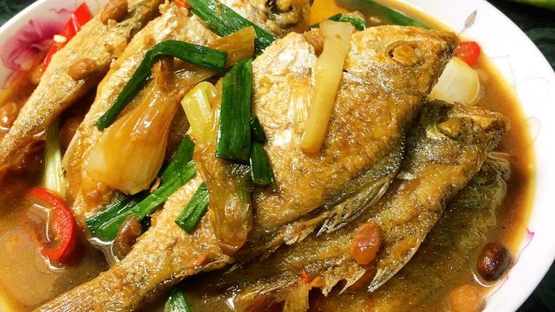 红豆鼓海鱼煮酱油水 (海鱼酱油水)
