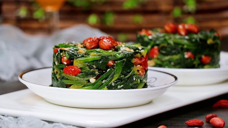 芝麻枸杞菠菜