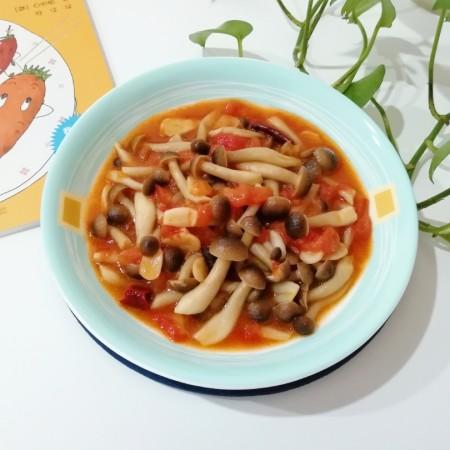 了不起的小番茄+茄汁蟹味菇