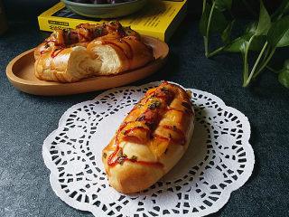 香葱火腿芝士面包,咸香松软、非常好吃