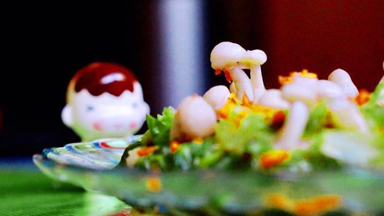 创意菜-万物复苏之春天的味道,来个近景开吃吧😊