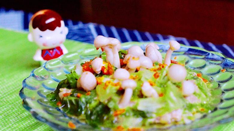 创意菜-万物复苏之春天的味道,生菜叶子会变黄