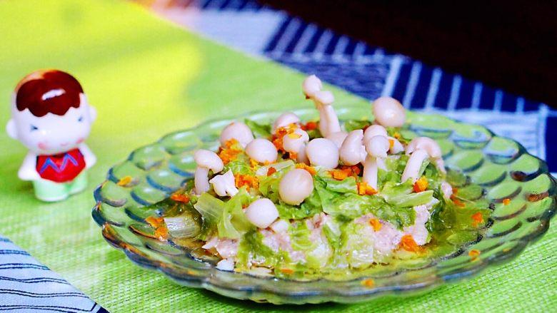 创意菜-万物复苏之春天的味道,如果用菠菜我想会更好看
