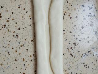 酸奶蔓越莓土司,两边折起