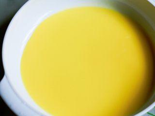 红豆芒果班戟-无黄油微波炉班戟皮,就这样,微波炉1分钟