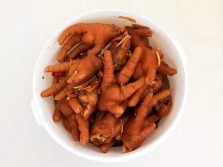 私房菜  密制酸辣鸡爪,密制酸辣鸡爪做好了
