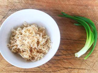 虾皮拌冬瓜,香葱和虾皮都是大补的食材