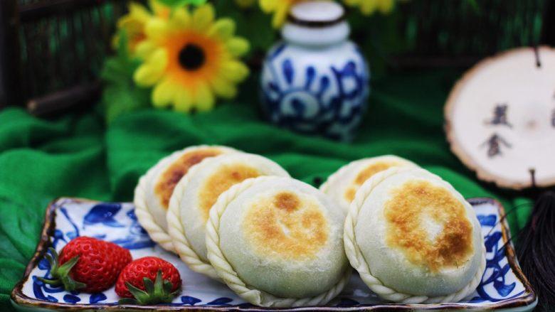 韭菜海虹馅饼(烟台特色)