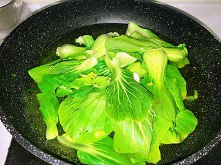 上海小吃-干挑鸡丝荠菜大馄饨- 两种包法,上海青也是这样操作
