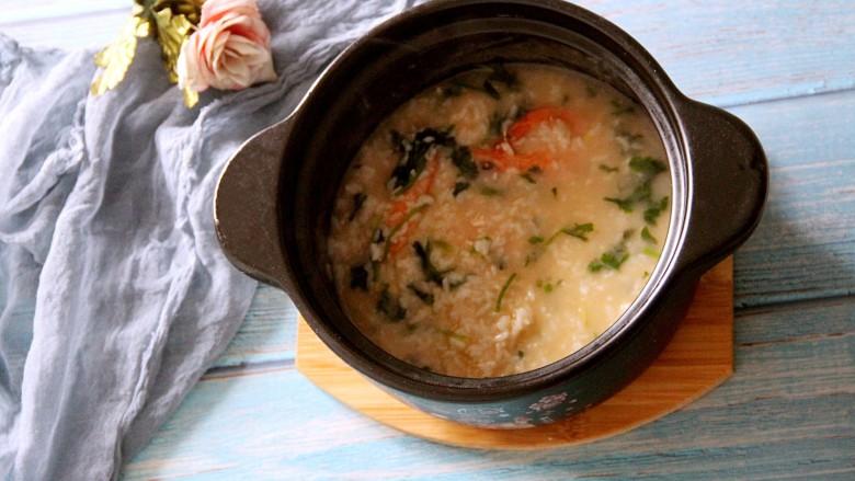 鲜虾粥,美味!