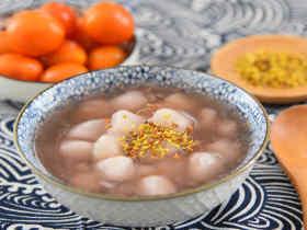 桂花糖芋苗—据说吃一碗,颜值都会提升