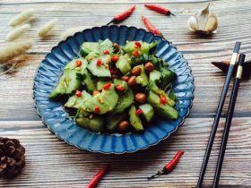 凉拌菜~拍黄瓜