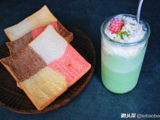 夏日小清新~抹茶星冰乐,非常漂亮。