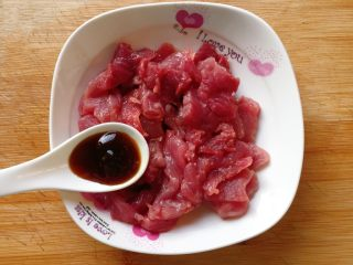 家常小炒四季豆,加入一汤匙蚝油