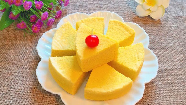 玉米面蒸糕