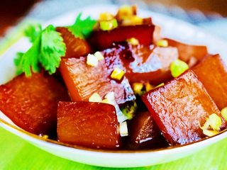 上海菜-红烧萝卜