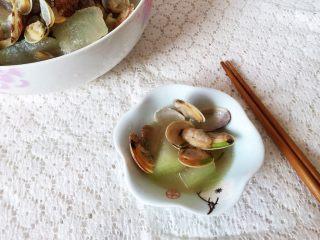 蛤蜊冬瓜汤,美味出锅啦!