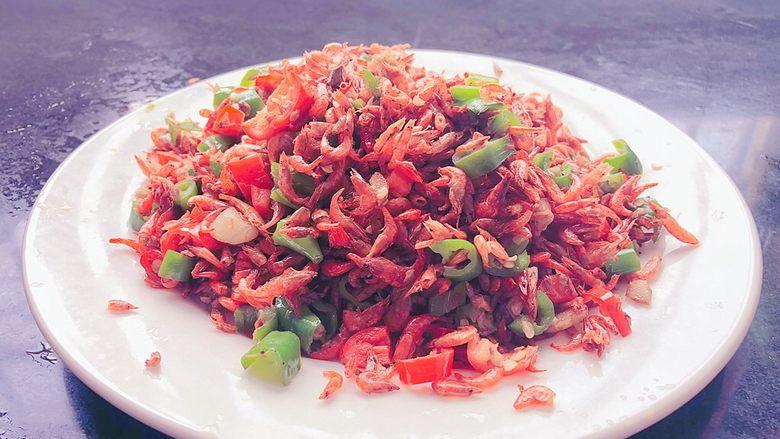 辣椒炒小虾米