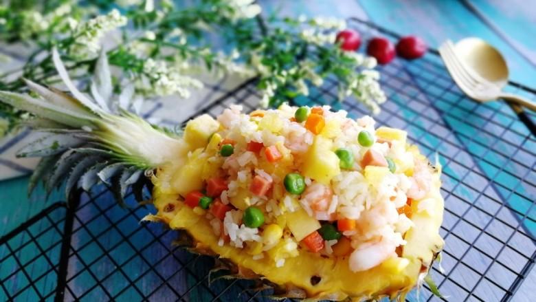 菠萝季+三鲜菠萝饭