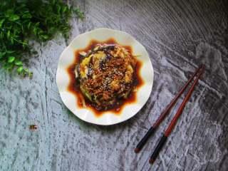 手撕蒜泥茄子,夏天茄子多用蒸的做法吃起来也较健康呢