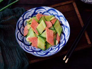 黄瓜炒火腿肠