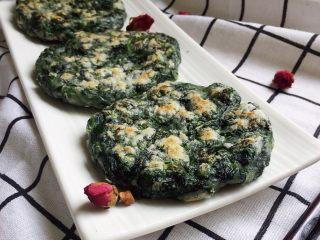 草头饼 —— 怎一个香字能形容,起锅,装盘