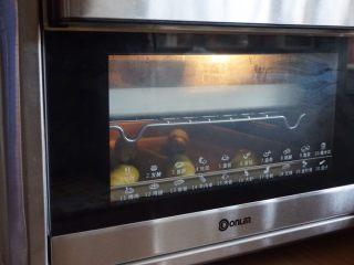 芒果面包卷,放入东菱k40c烤箱32度,发酵45分钟。