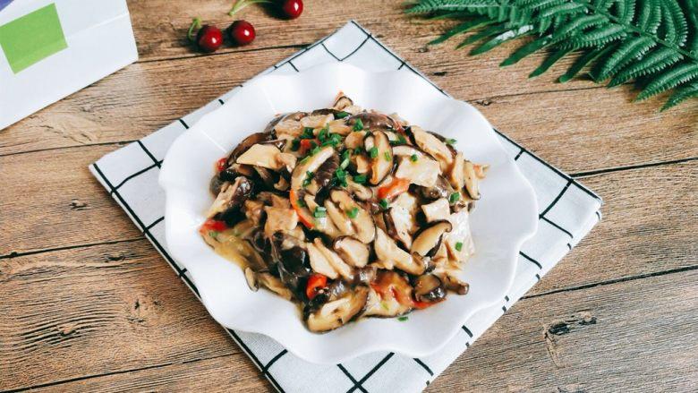 【一人食】香菇肉片盖浇饭