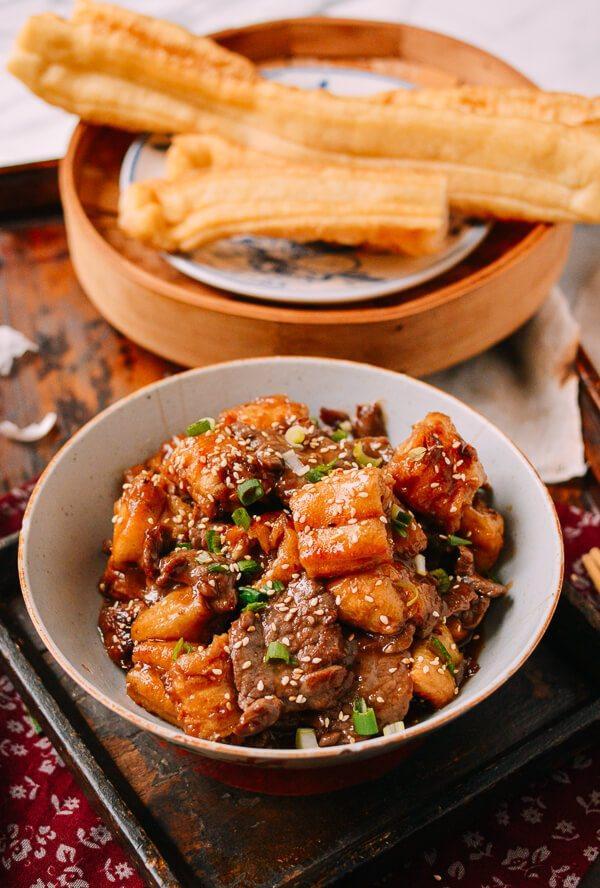 油条牛柳,又是一个下饭的好菜。