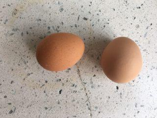 芒果奶冻,鸡蛋2个洗干净