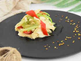 香芹拌腐竹—味道鲜美、清香适口的一道小菜,你一定得试试