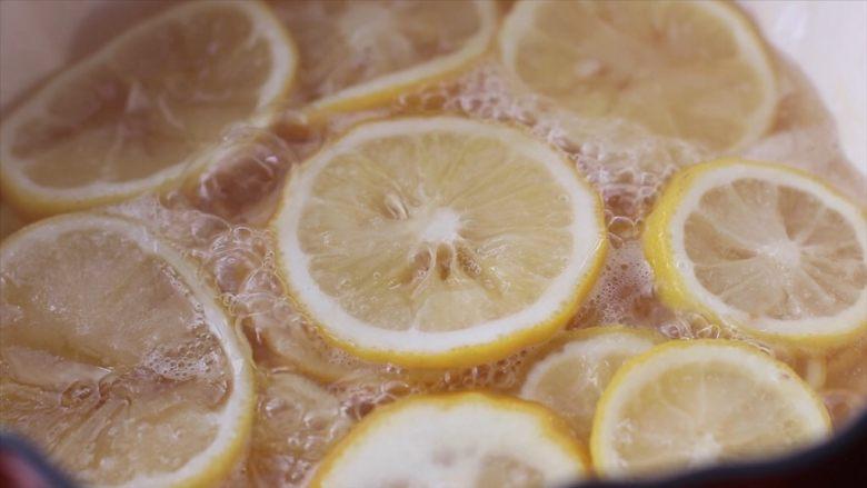 柠檬蜜&柠檬冰红茶,开小火慢慢熬15-20分钟