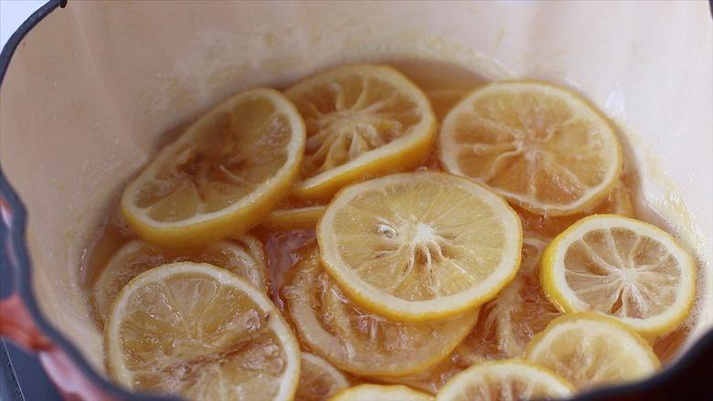 柠檬蜜&柠檬冰红茶,然后关火