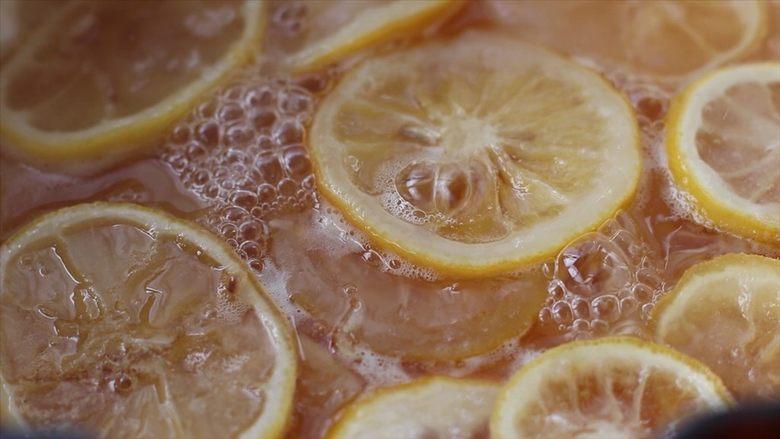 柠檬蜜&柠檬冰红茶,开小火继续慢熬15-20分钟