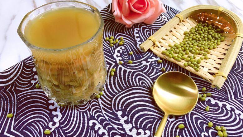 清热解毒海带薏仁绿豆糖水