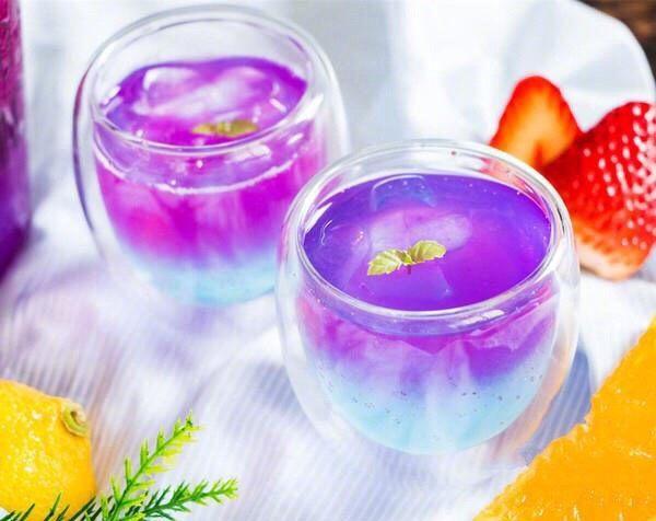 火龙果气泡饮料