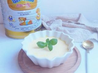 奶粉蛋黄布丁,给宝宝做起来。