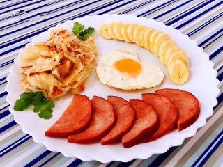 手抓饼开心早餐,这样的美味看着就心动