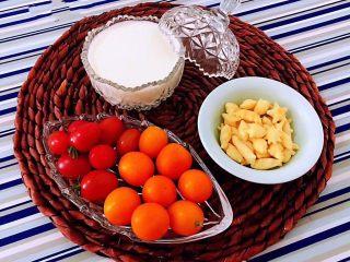 手抓饼开心早餐,还有小吃和水果的搭配