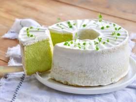 新加坡绿蛋糕 | 香兰叶戚风蛋糕