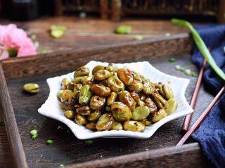葱油酱汁蚕豆