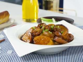 上海小素鸡炖五花肉