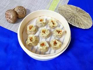 腊肉香菇糯米烧麦