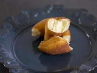 美味油炸版甜甜圈,即使原味吃,也真的很贊!組織很細膩、松軟!