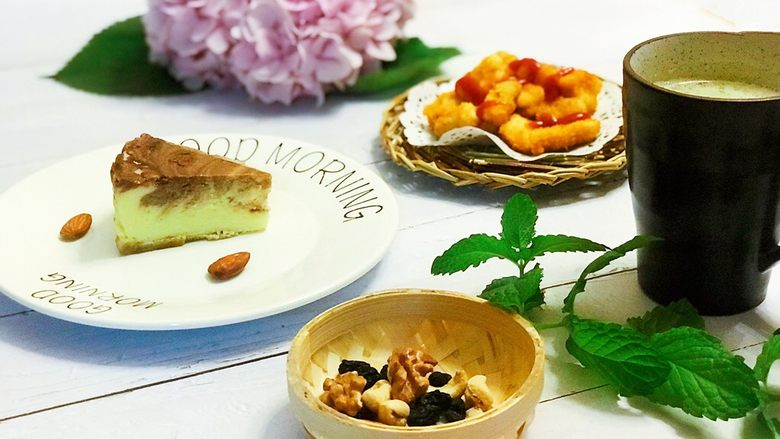 浅湘食光&摩卡芝士蛋糕,摆盘上桌😋💋