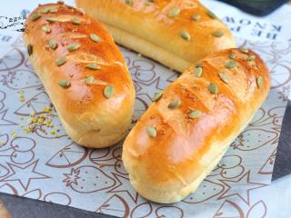 桂花南瓜面包