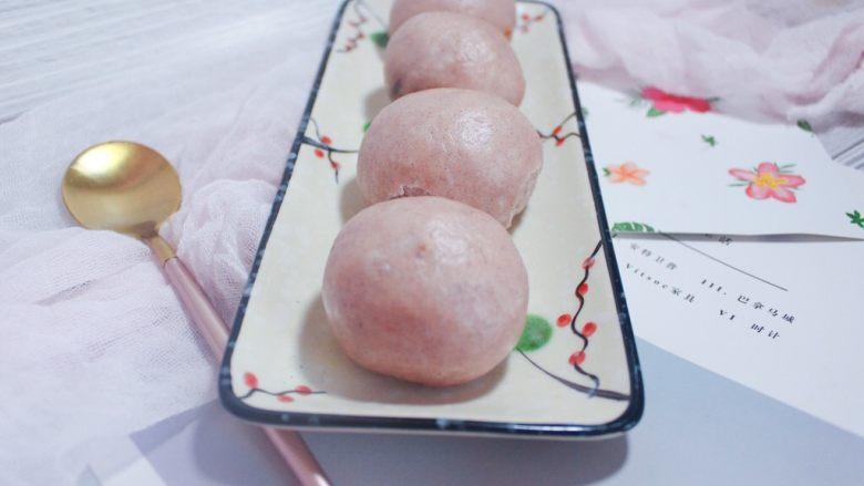 辅食 紫薯豆沙包(自制豆沙)