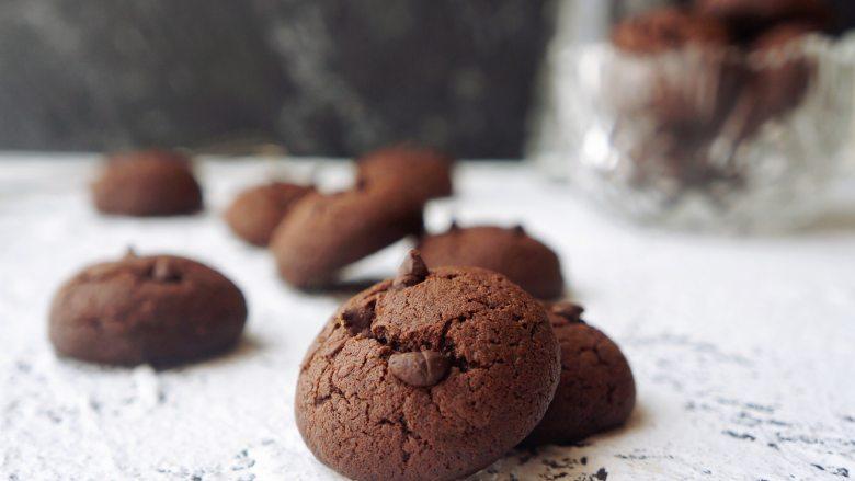 巧克力豆软曲奇