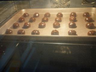 巧克力豆软曲奇,放入预热好180度烤箱中烘烤12分钟